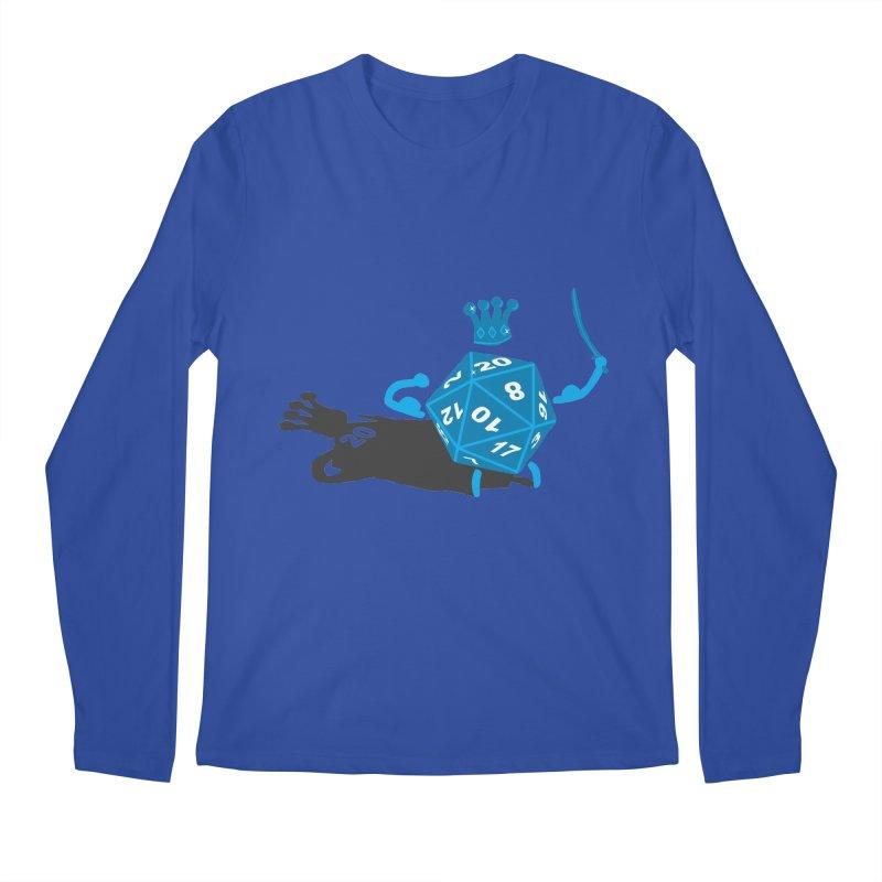 King d20 / Natural Leader Men's Regular Longsleeve T-Shirt by Alpha Ryan's Artist Shop
