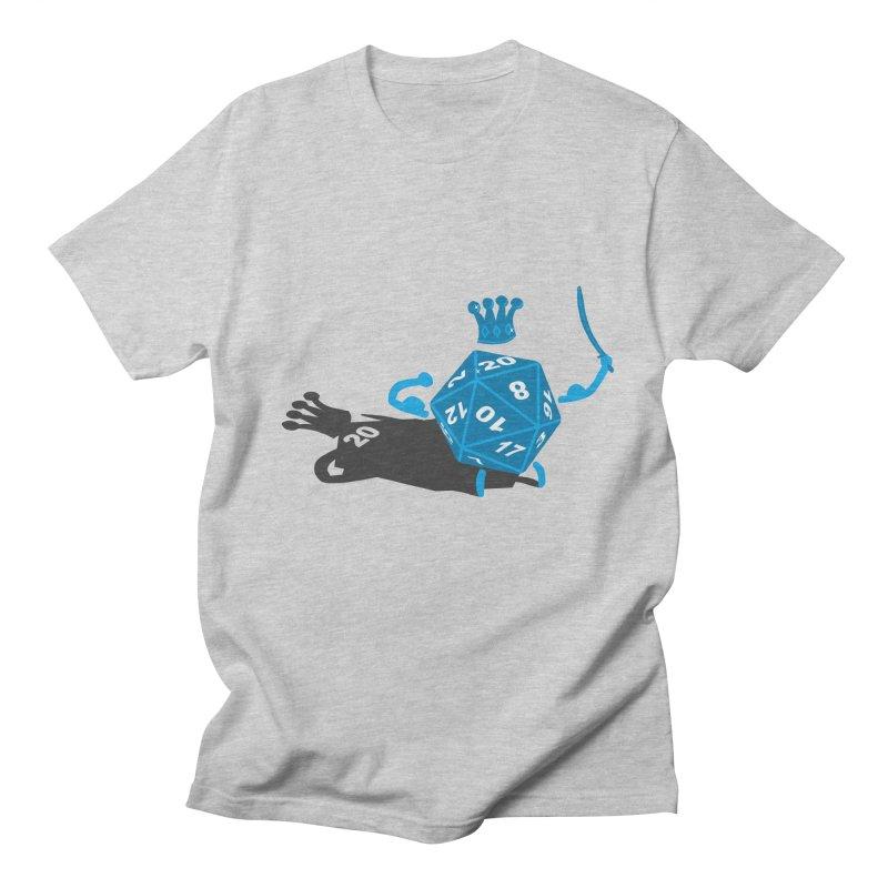 King d20 / Natural Leader Men's T-shirt by Alpha Ryan's Artist Shop