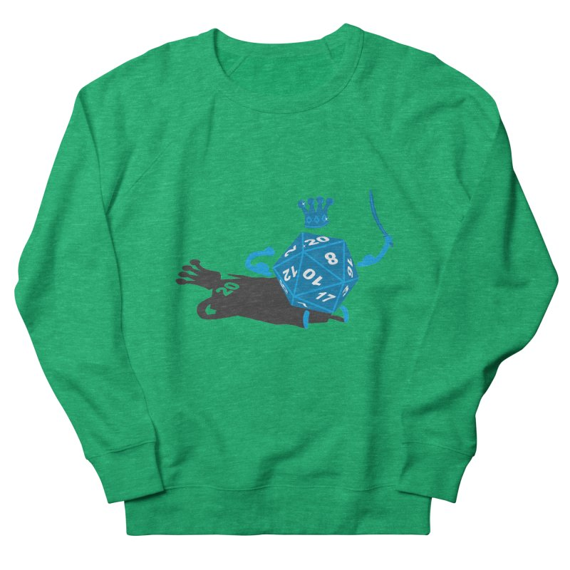 King d20 / Natural Leader Women's Sweatshirt by Alpha Ryan's Artist Shop