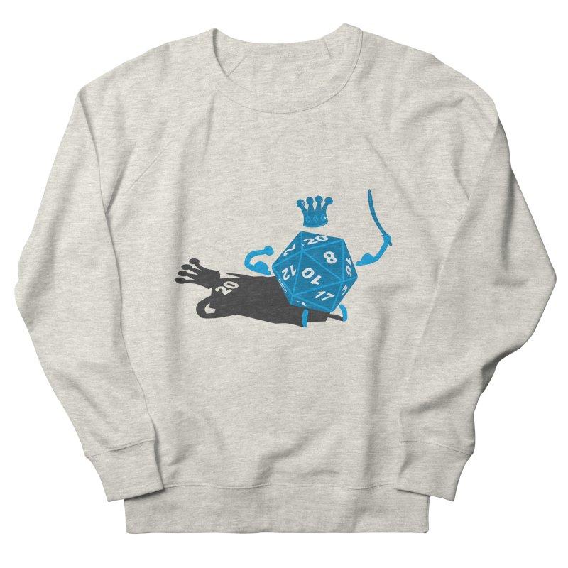 King d20 / Natural Leader Women's Sweatshirt by Alpha Ryan's Artist Shop