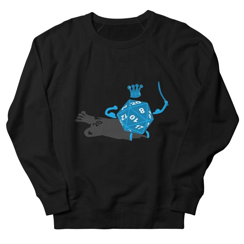 King d20 / Natural Leader Men's Sweatshirt by Alpha Ryan's Artist Shop