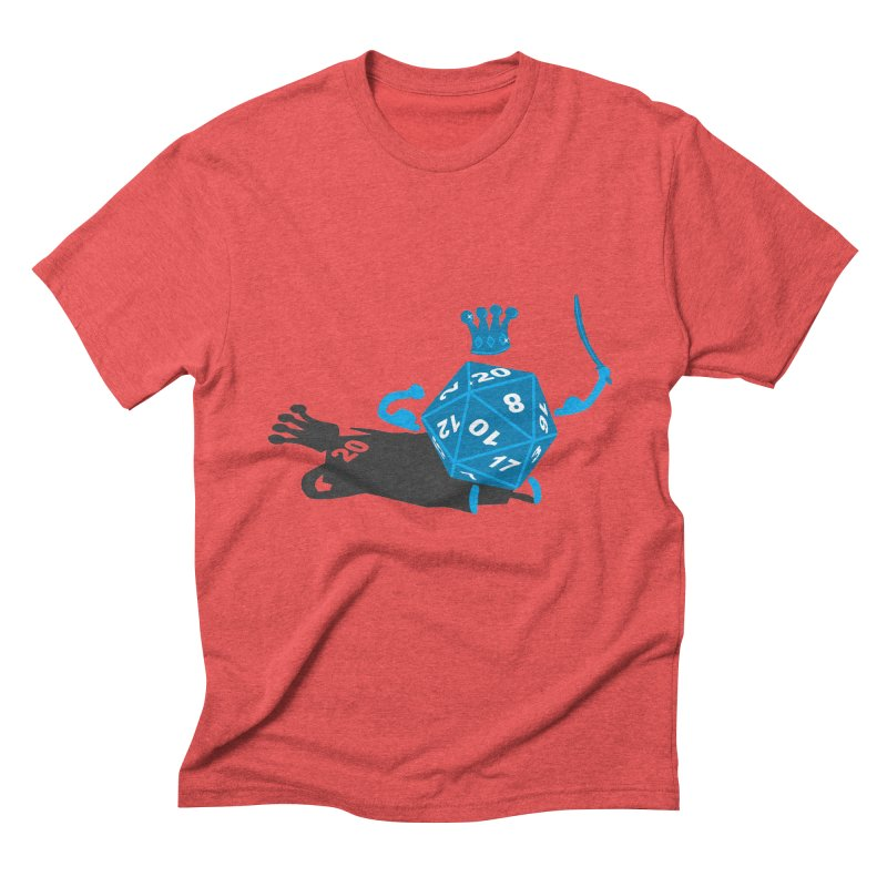 King d20 / Natural Leader Men's Triblend T-shirt by Alpha Ryan's Artist Shop