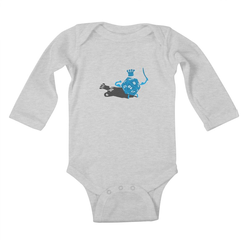 King d20 / Natural Leader Kids Baby Longsleeve Bodysuit by Alpha Ryan's Artist Shop