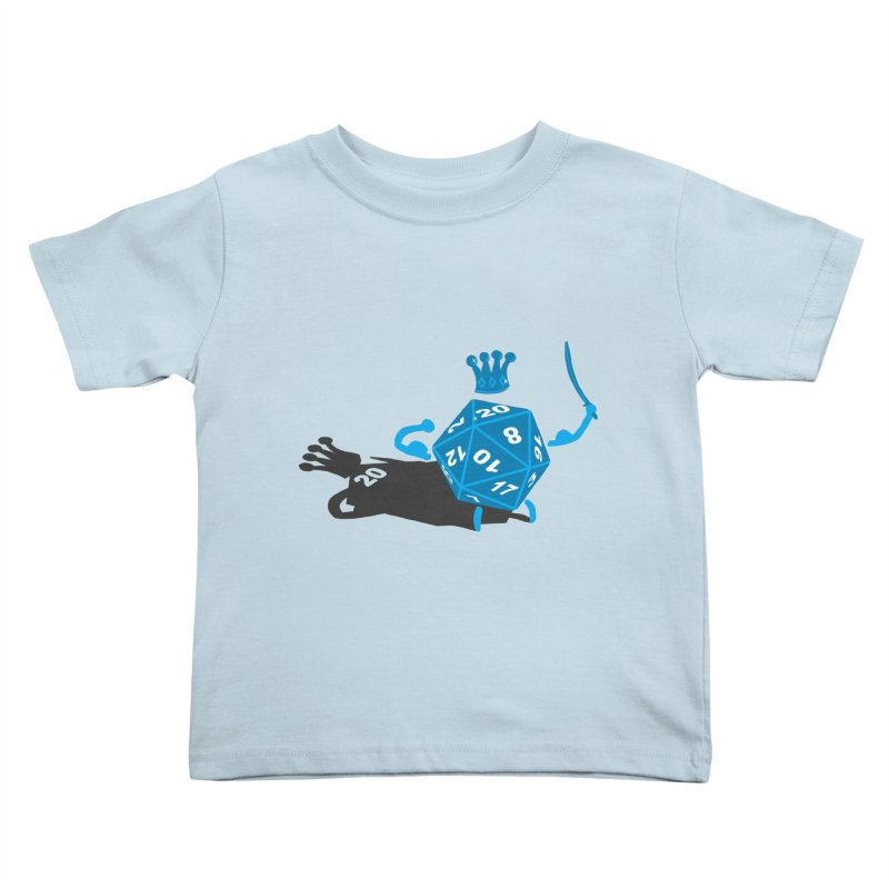 King d20 / Natural Leader Kids Toddler T-Shirt by Alpha Ryan's Artist Shop