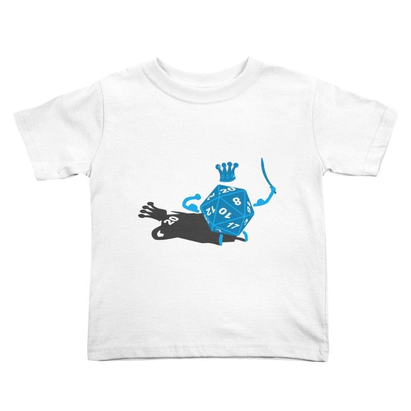 King d20 / Natural Leader Kids Toddler T-Shirt by Alpha Ryan's Artist Shop