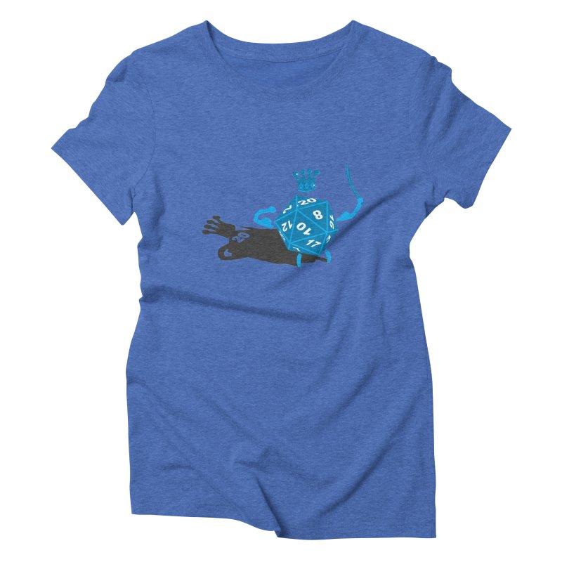 King d20 / Natural Leader Women's T-Shirt by Alpha Ryan's Artist Shop
