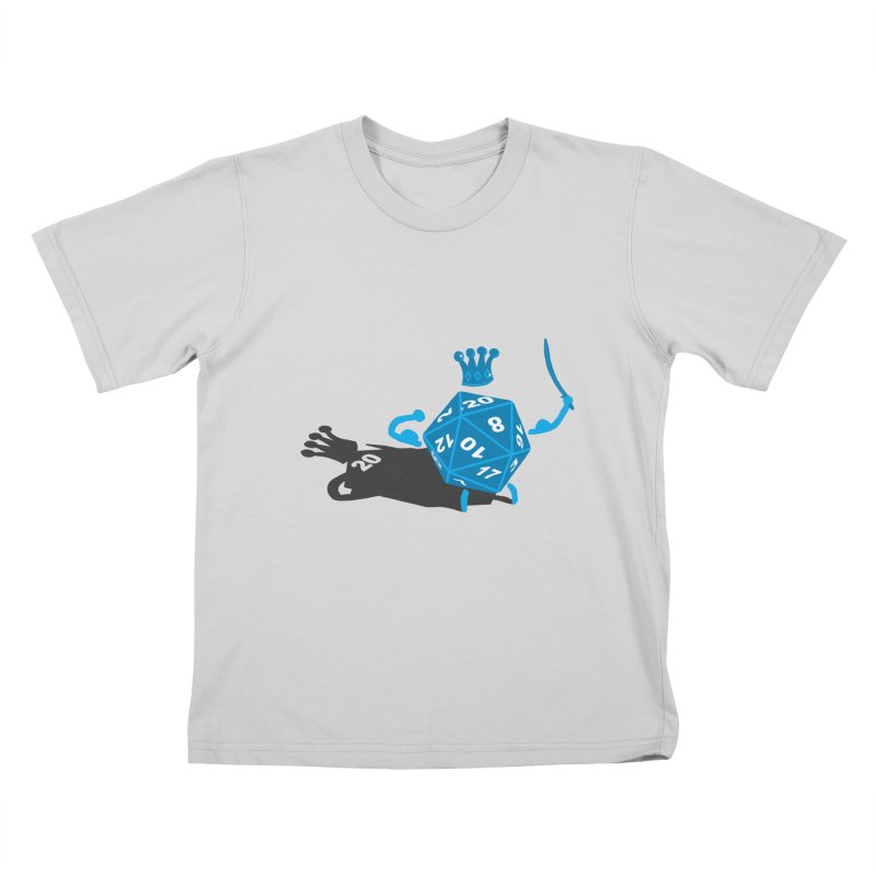 King d20 / Natural Leader Kids T-Shirt by Alpha Ryan's Artist Shop