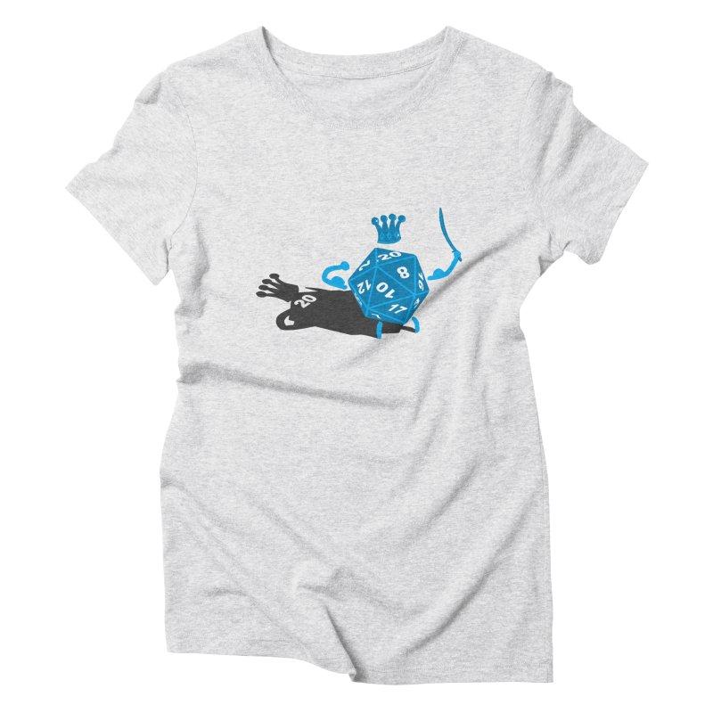 King d20 / Natural Leader Women's Triblend T-Shirt by Alpha Ryan's Artist Shop