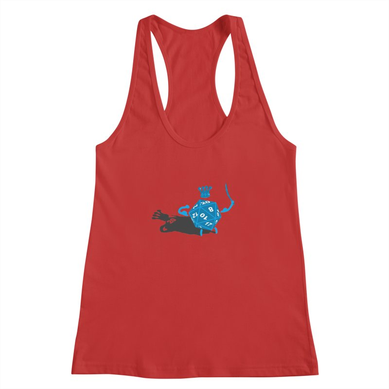 King d20 / Natural Leader Women's Racerback Tank by Alpha Ryan's Artist Shop