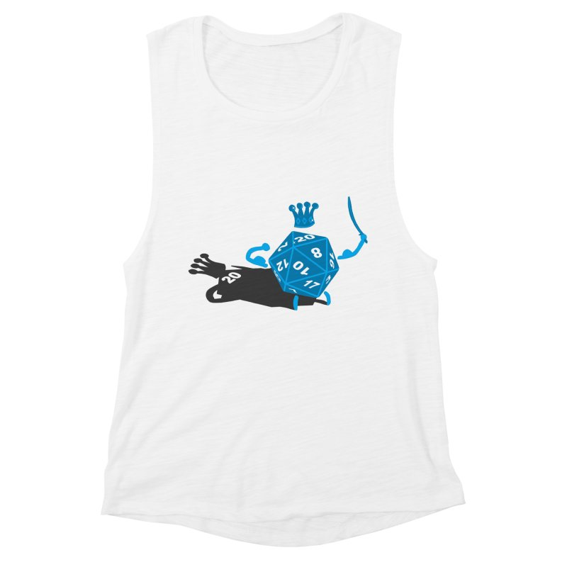 King d20 / Natural Leader Women's Muscle Tank by Alpha Ryan's Artist Shop