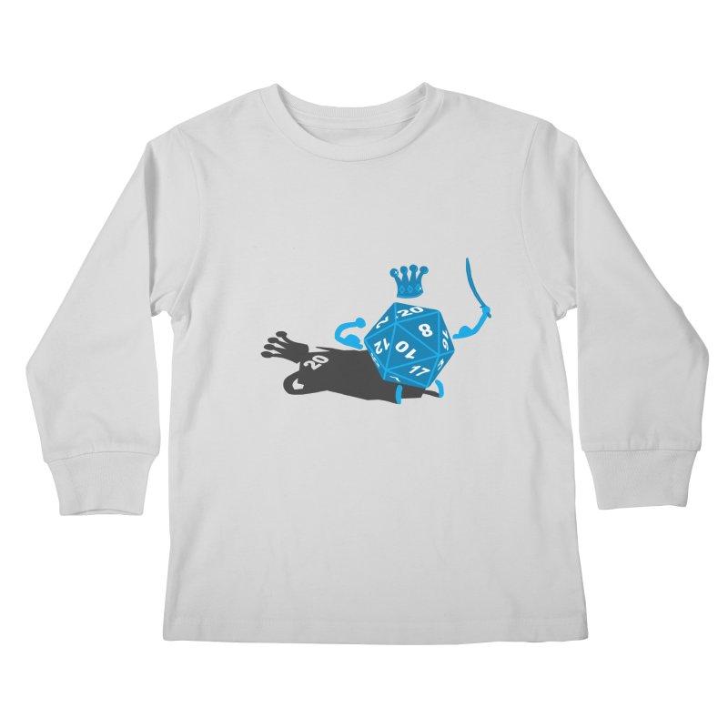 King d20 / Natural Leader Kids Longsleeve T-Shirt by Alpha Ryan's Artist Shop