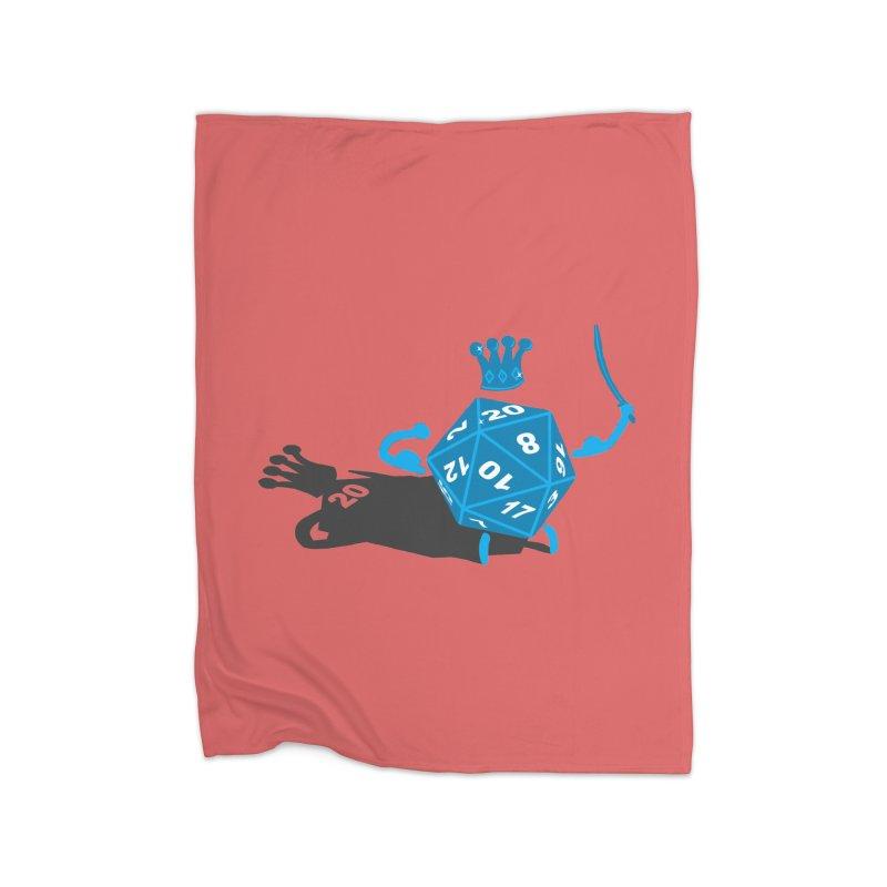 King d20 / Natural Leader Home Blanket by Alpha Ryan's Artist Shop