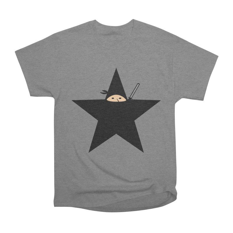 Ninja Star Men's T-Shirt by Alpha Ryan's Artist Shop