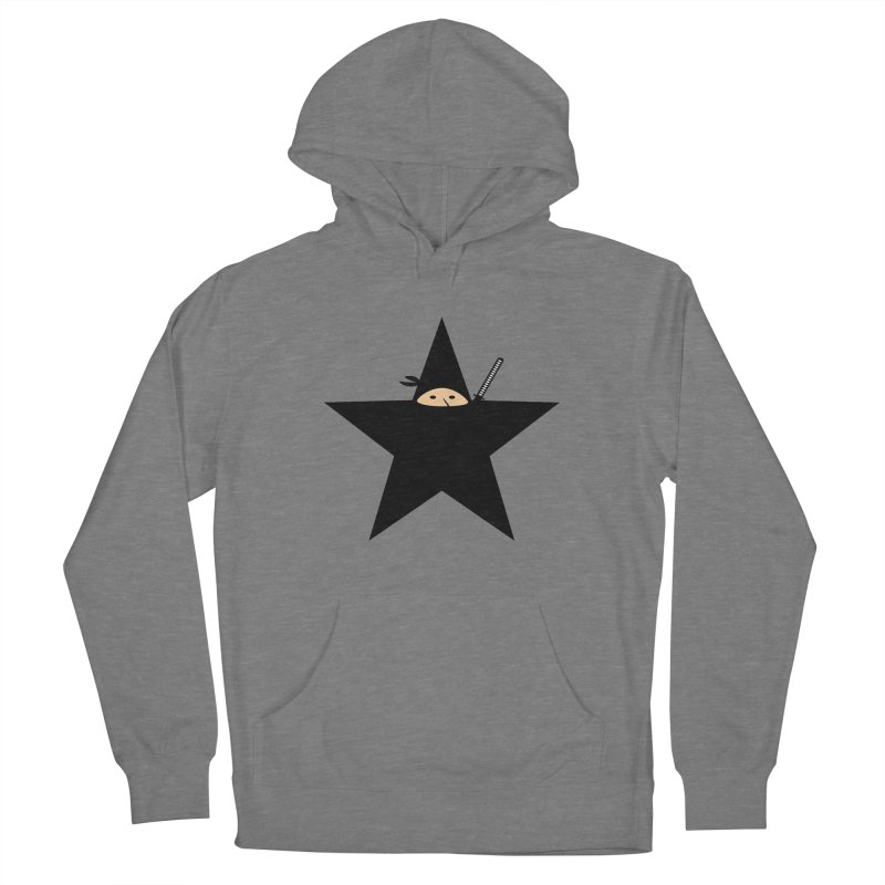 Ninja Star Women's Pullover Hoody by Alpha Ryan's Artist Shop
