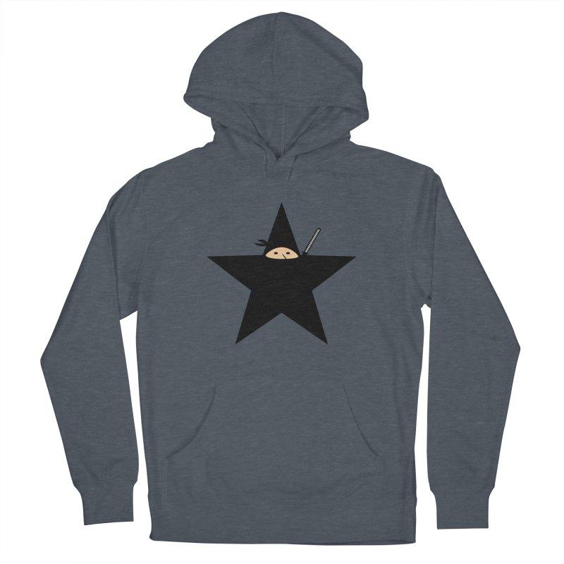 Ninja Star Women's Pullover Hoody by Alpha Ryan's Artist Shop