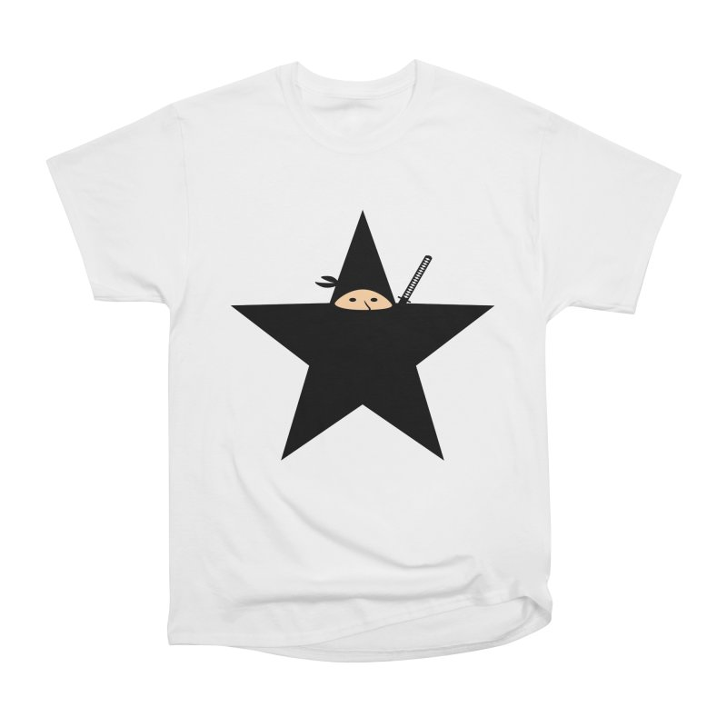Ninja Star Women's T-Shirt by Alpha Ryan's Artist Shop