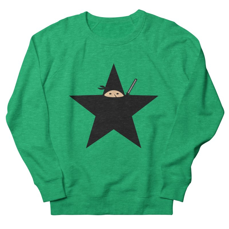 Ninja Star Women's Sweatshirt by Alpha Ryan's Artist Shop
