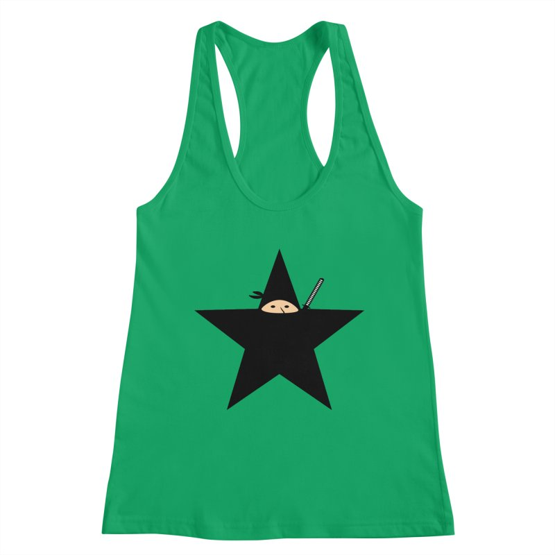 Ninja Star Women's Tank by Alpha Ryan's Artist Shop