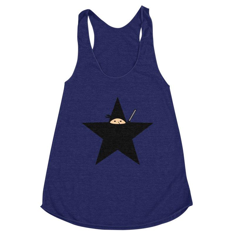 Ninja Star Women's Tank by Alpha Ryan's Artist Shop