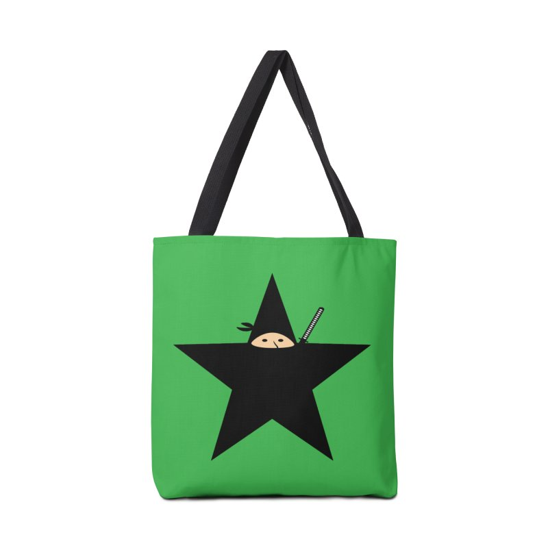 Ninja Star Accessories Bag by Alpha Ryan's Artist Shop