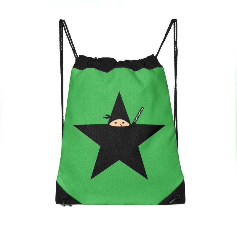 Ninja Star Accessories Bag by Alpha Ryan's Artist Shop