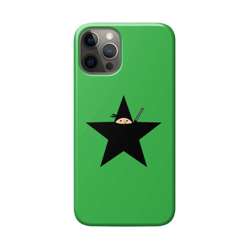 Ninja Star Accessories Phone Case by Alpha Ryan's Artist Shop