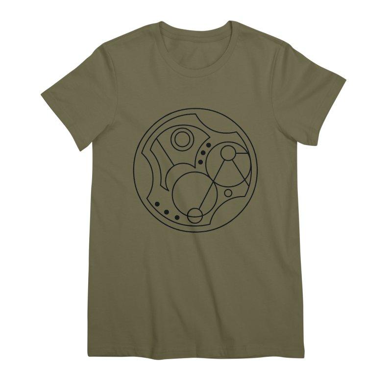 Bilingual Women's Premium T-Shirt by Alpha Ryan's Artist Shop