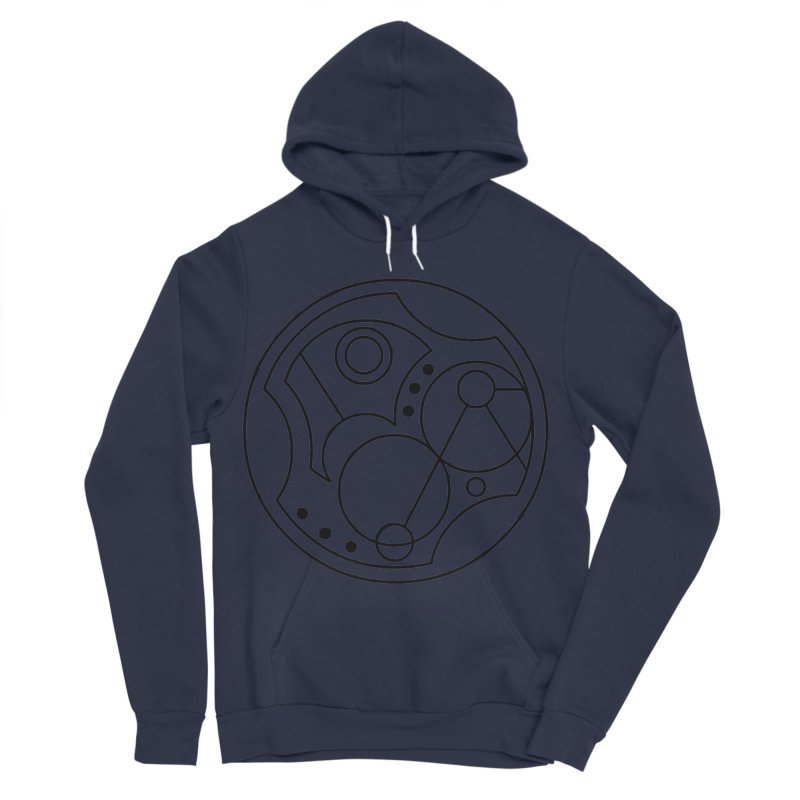Bilingual Men's Sponge Fleece Pullover Hoody by Alpha Ryan's Artist Shop