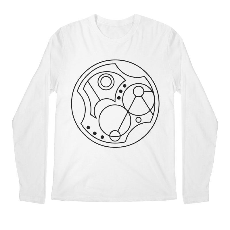 Bilingual Men's Regular Longsleeve T-Shirt by Alpha Ryan's Artist Shop