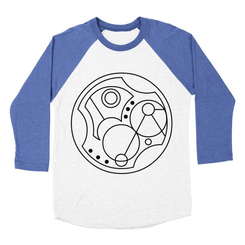 Bilingual Women's Baseball Triblend Longsleeve T-Shirt by Alpha Ryan's Artist Shop