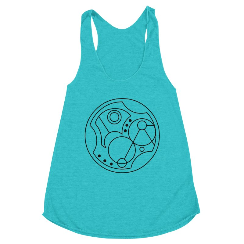 Bilingual Women's Tank by Alpha Ryan's Artist Shop
