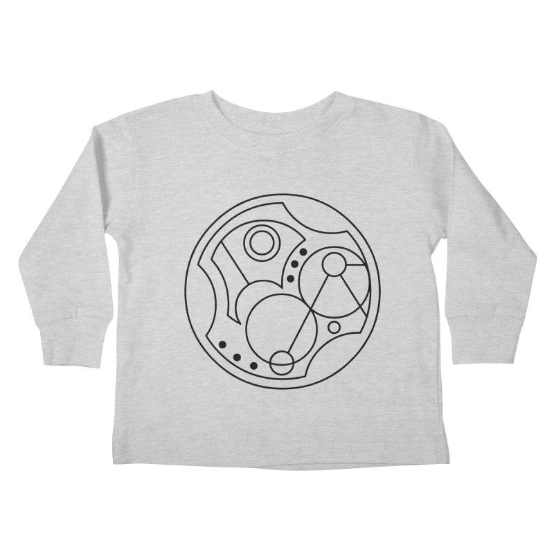 Bilingual Kids Toddler Longsleeve T-Shirt by Alpha Ryan's Artist Shop