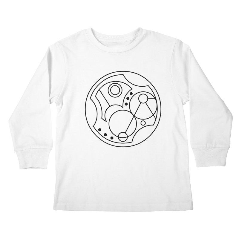 Bilingual Kids Longsleeve T-Shirt by Alpha Ryan's Artist Shop