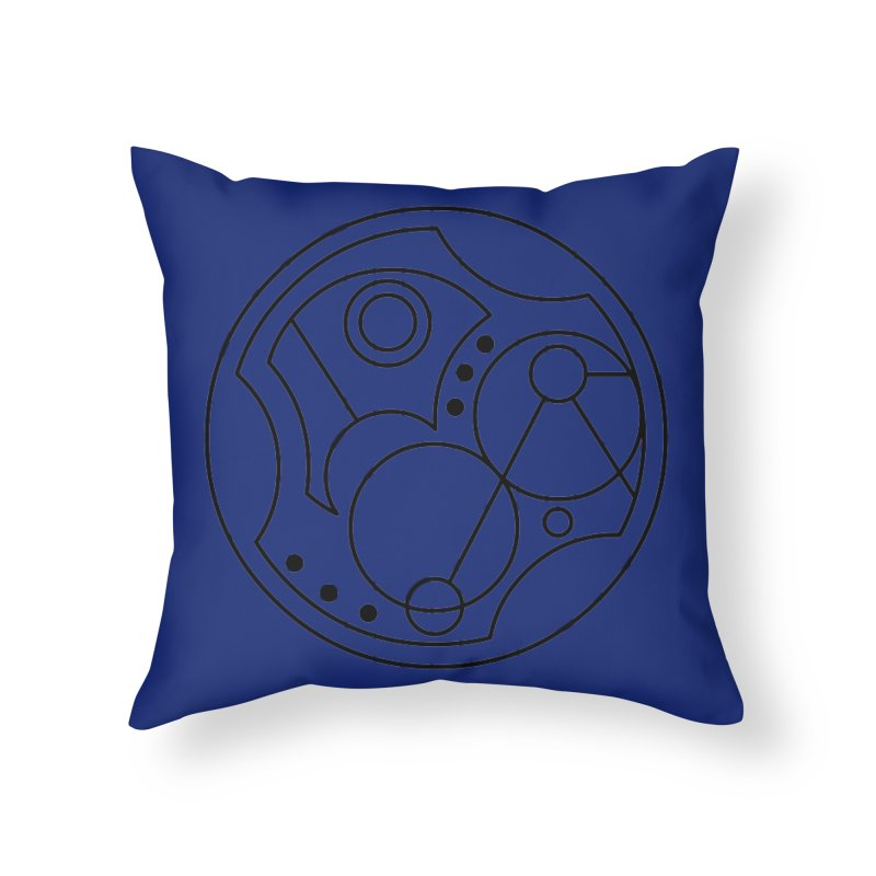 Bilingual Home Throw Pillow by Alpha Ryan's Artist Shop
