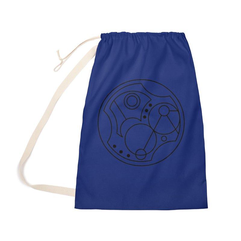 Bilingual Accessories Bag by Alpha Ryan's Artist Shop