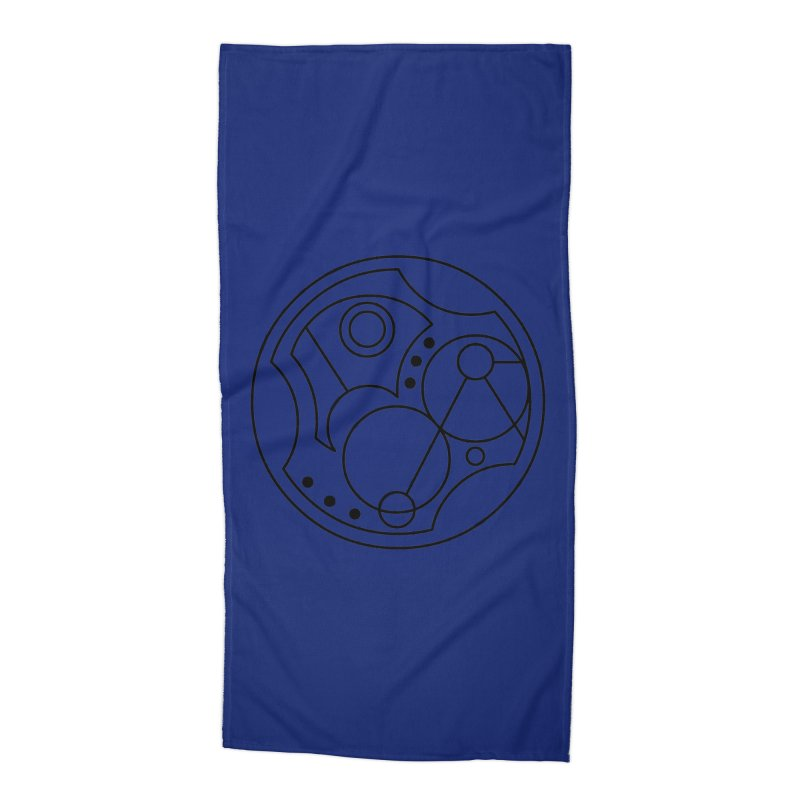 Bilingual Accessories Beach Towel by Alpha Ryan's Artist Shop