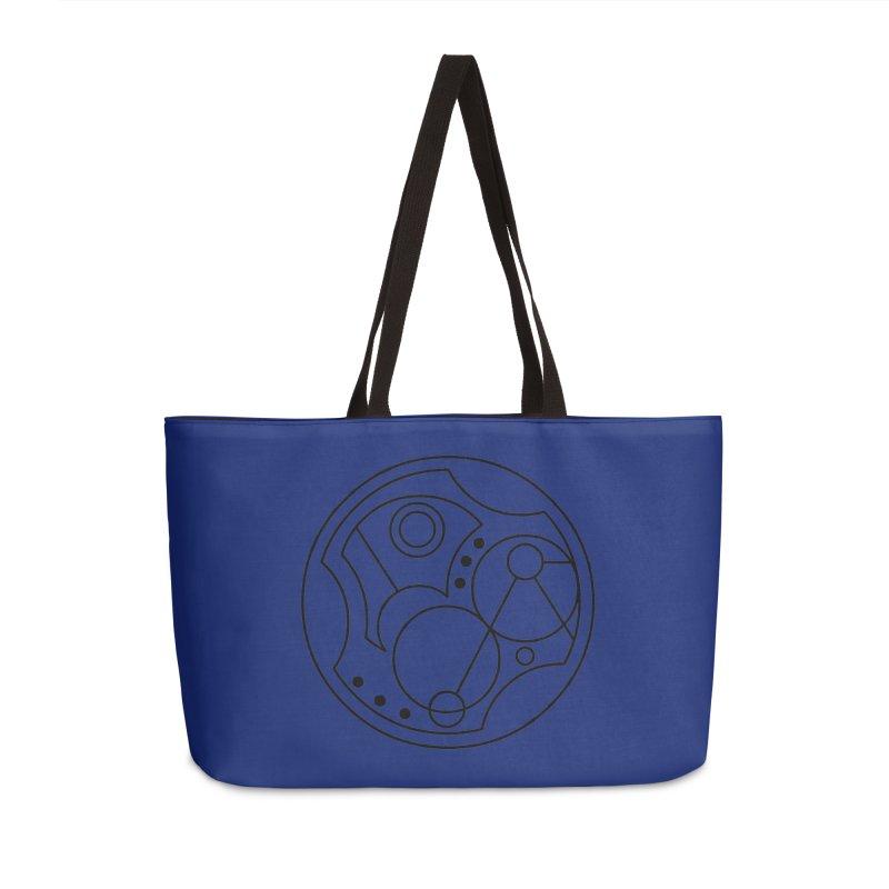 Bilingual Accessories Weekender Bag Bag by Alpha Ryan's Artist Shop