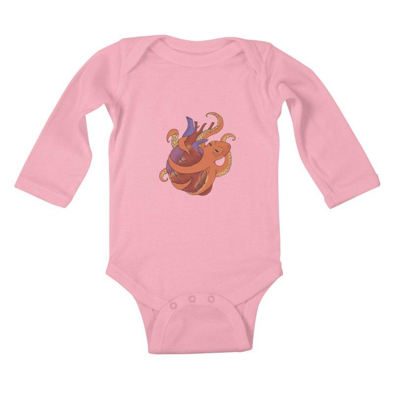 Main Squeeze Kids Baby Longsleeve Bodysuit by alrkeaton's Artist Shop
