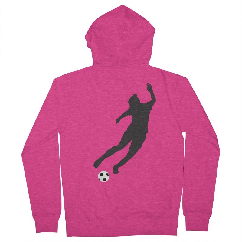 What a Kicker Women's French Terry Zip-Up Hoody by alrkeaton's Artist Shop