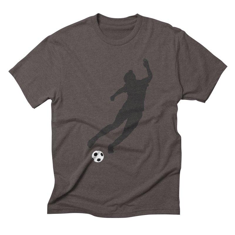 What a Kicker Men's Triblend T-Shirt by alrkeaton's Artist Shop