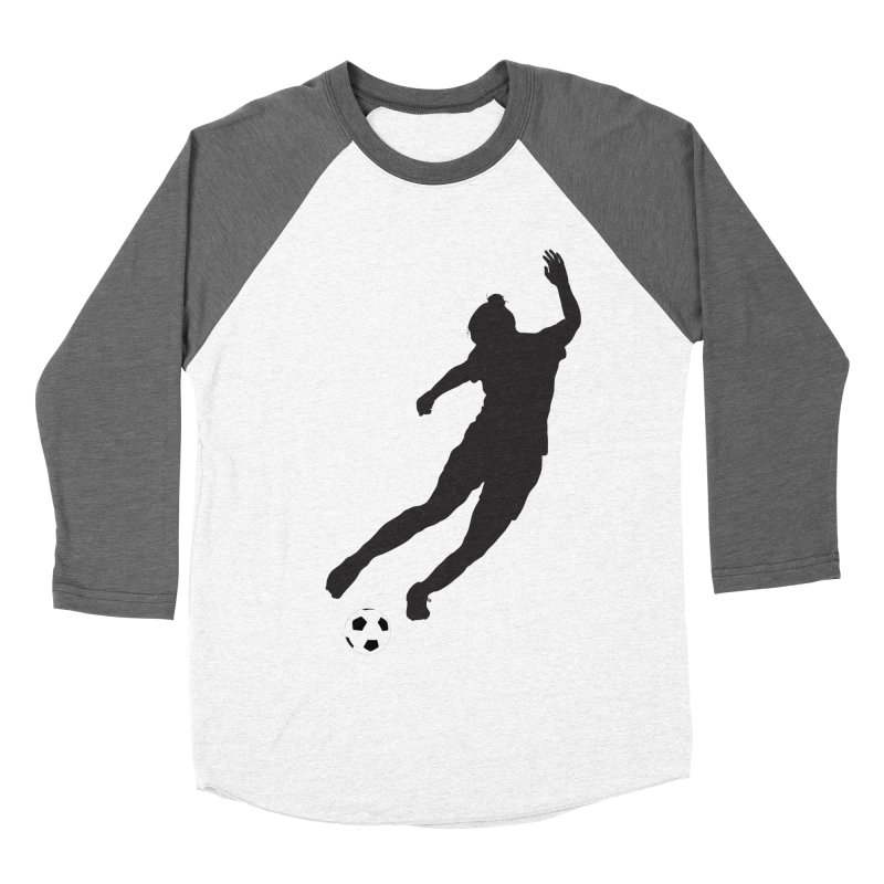 What a Kicker Women's Baseball Triblend Longsleeve T-Shirt by alrkeaton's Artist Shop
