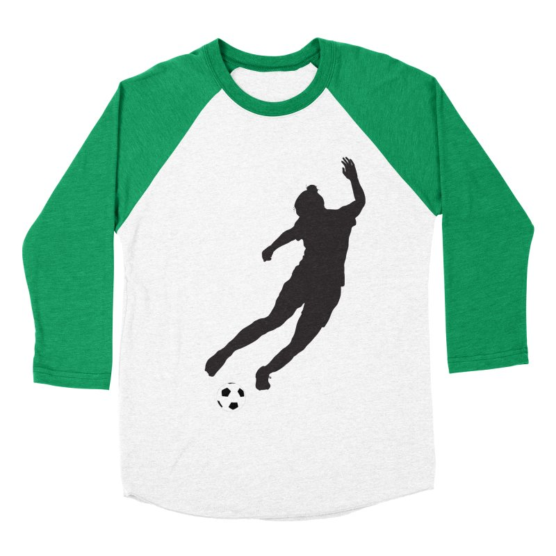 What a Kicker Men's Baseball Triblend Longsleeve T-Shirt by alrkeaton's Artist Shop
