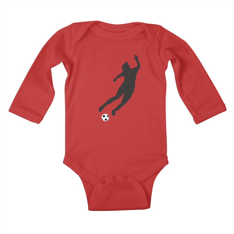What a Kicker Kids Baby Longsleeve Bodysuit by alrkeaton's Artist Shop