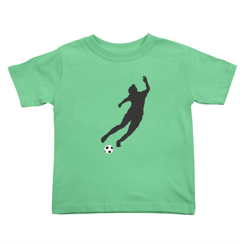What a Kicker Kids Toddler T-Shirt by alrkeaton's Artist Shop