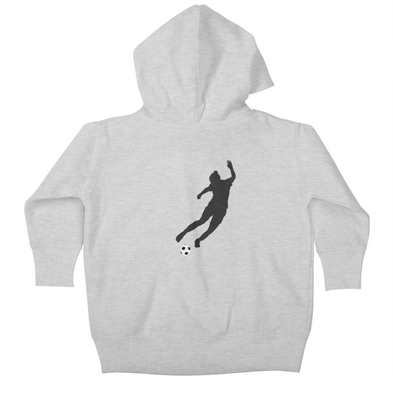 What a Kicker Kids Baby Zip-Up Hoody by alrkeaton's Artist Shop