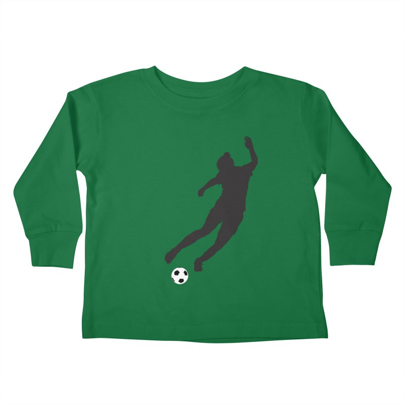 What a Kicker Kids Toddler Longsleeve T-Shirt by alrkeaton's Artist Shop