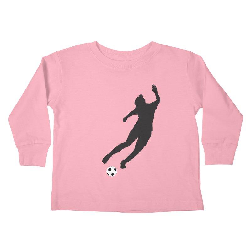 What a Kicker Kids Toddler Longsleeve T-Shirt by alrkeaton's Artist Shop