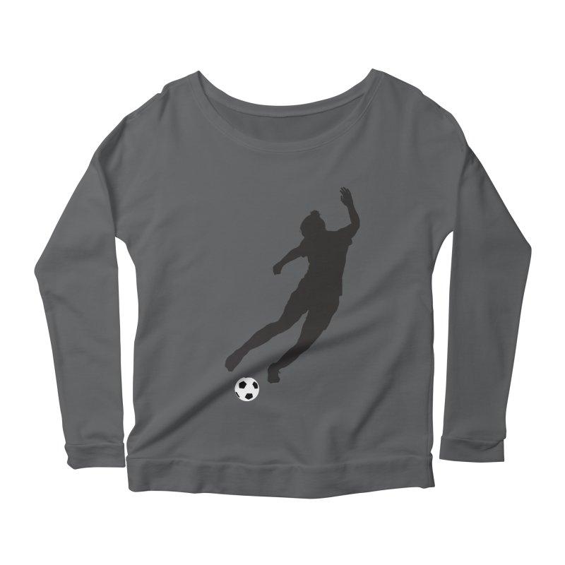 What a Kicker Women's Scoop Neck Longsleeve T-Shirt by alrkeaton's Artist Shop