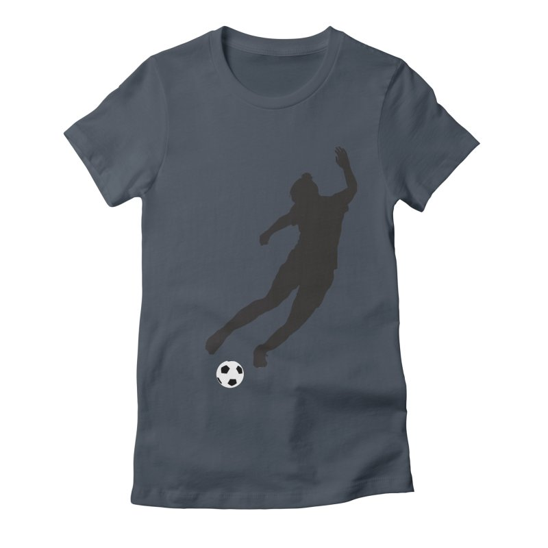 What a Kicker Women's Fitted T-Shirt by alrkeaton's Artist Shop