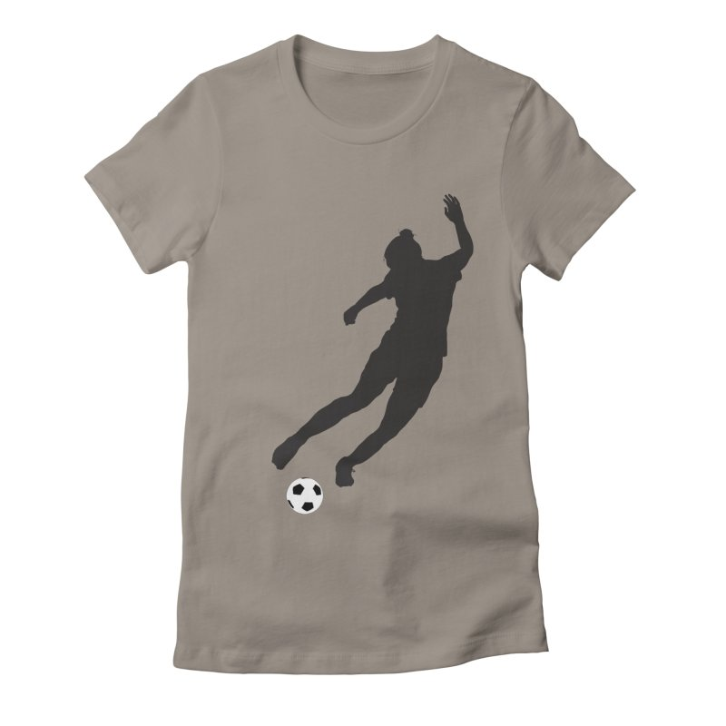 What a Kicker Women's Fitted T-Shirt by alrkeaton's Artist Shop